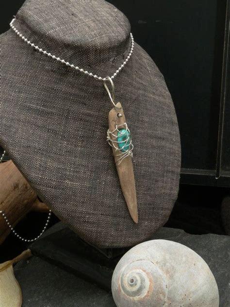 holzschmuck selber machen kette mit treibholz t 252 rkis klunkern jewelry gemstone treibholz