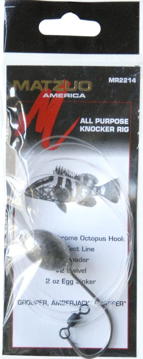 rig knocker grouper snapper amberjack