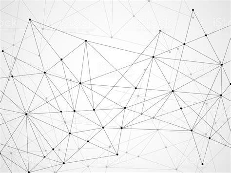 抽象幾何背景與連接點和線 向量插圖及更多 三角形 圖片