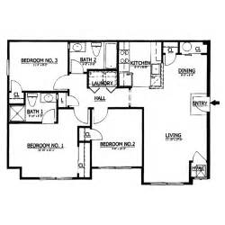 1000 Sq Ft House Plans Inspiration by 42 1000 Foot Floor Plan For Ranch Home Unique House Plans