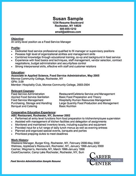 Banquet Waiter Description Resume by Expert Banquet Server Resume Guides You Definitely Need