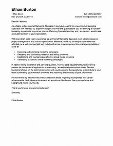 leading professional online marketer and social media With free online cover letter template