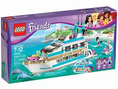 Lego Friends Box Dolphin Cruiser Bakery Heartlake