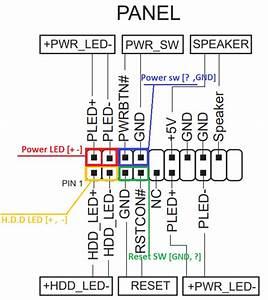 Front Panel Connectors Direction Help