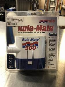 Rule-mate Fully Automated Bilge Pump