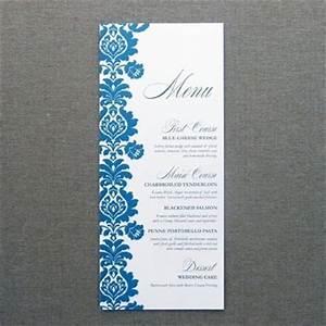 menu card template rococo design download print With free printable menu cards templates
