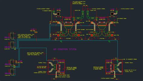 Hvac Drawing In Autocad by Hvac Autocad Free Cad Block Symbol And Cad Drawing