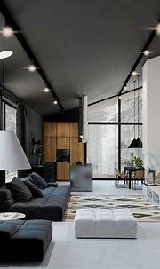 B&W House by Mariya Chmut 😍 | Modern house design interior ...
