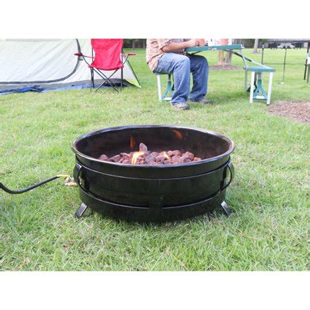 portable propane pit king kooker portable propane outdoor pit with