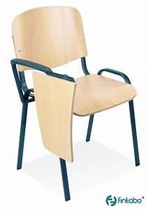 Stuhl Mit Schreibplatte : stuhl mit schreibtablar holz seminarst hle g nstig ~ Frokenaadalensverden.com Haus und Dekorationen