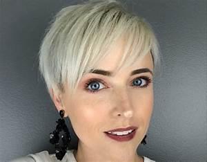 Coupe Courte Tendance 2019 : coiffure tendance 2019 femme ~ Dallasstarsshop.com Idées de Décoration