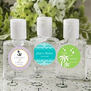 Personalized hand sanitizer favors free assembly for Custom printed hand sanitizer