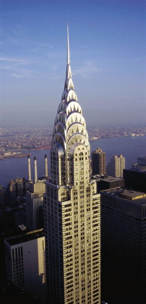 Art Deco~ William Van Alen Chrysler Building New York