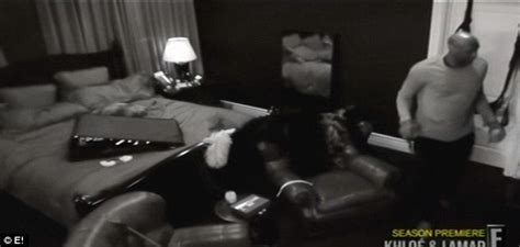 Khloe Kardashian tries to install a sex swing... but it ...
