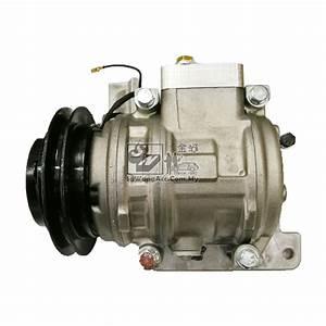 Proton Wira Air Cond Compressor  Modify From Sanden To Denso