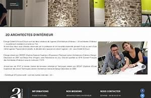 Architecte La Roche Sur Yon : cr ation site internet la roche sur yon vend e 2d architectes d 39 int rieur ~ Nature-et-papiers.com Idées de Décoration