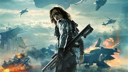 Soldier Winter Bucky Barnes Wallpapers Captain America