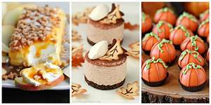 35 Easy Fall Dessert Recipes - Best Treats for Autumn Parties