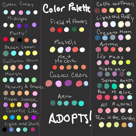 Giant Color Palette Adopt Dump Read Desc Closed By