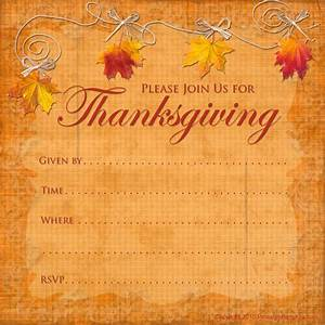 Free printable party invitations printable thanksgiving invitations for Free thanksgiving invitations