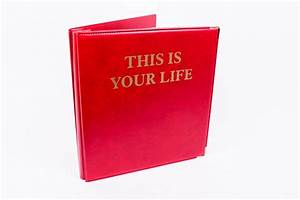 remember the tv show this is your life the red book book With this is your life template