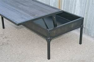 combine 9 industrial furniture industrial coffee table With movable coffee table
