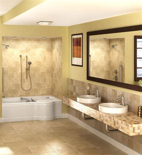 Handicapped Accessible Bathroom Designs by Universal Design Accessible Remodeling Handicap