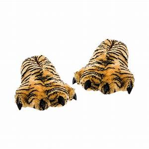 Wishpets Furry Bengal Tiger Plush Slipper – Bold Home Products