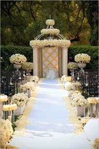 wedding decorating ideas wedding decorations wedding aisle decoration ideas
