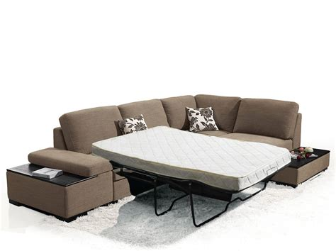 sectional sofa with sleeper bed risto modern sectional sofa bed