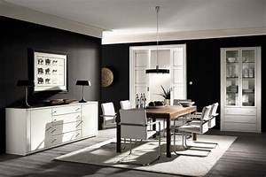 Awesome dining rooms from hulsta for Modern dining room black and white