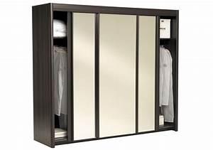 Porte De Penderie : armoire wenge ~ Teatrodelosmanantiales.com Idées de Décoration