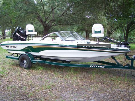 Nitro Bass Ski Boat by 2006 Nitro Fish Ski