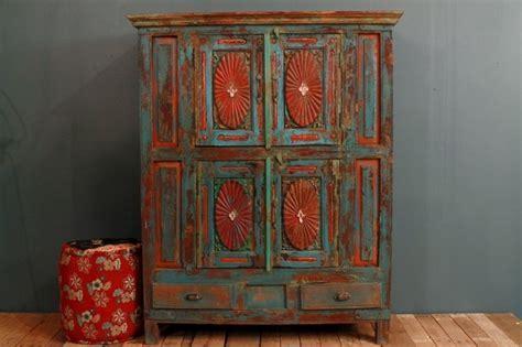 Tall oak bookcase, cream distressed kitchen cabinets