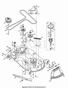 30 Troy Bilt Mower Deck Diagram