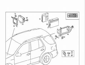 Does The Mercedes Ml320 Has A Connector For A Cd Changer