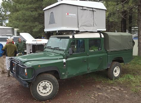 land rover pickup truck overland camping   The Fast Lane Truck