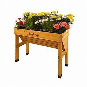 Blumenkasten Holz Balkon : hochbeet blumenkasten holz vegtrug wall hugger small 100x46x80 ~ Orissabook.com Haus und Dekorationen