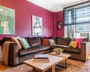 Rosa Deko Wohnzimmer : wohnzimmer ideen mit rosa 75 verbl ffende wohnzimmer ideen ~ Frokenaadalensverden.com Haus und Dekorationen