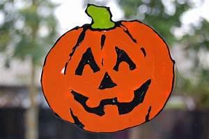 Dessin Citrouille Facile : bricolage facile d co fen tre automne et halloween 46 id es ~ Melissatoandfro.com Idées de Décoration