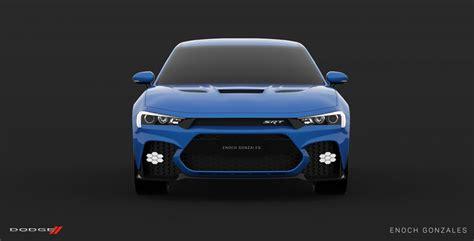 dodge charger srt hellcat super sedan envisioned