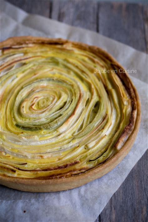 poireau cuisine quiche au poireau pâte brisée sans beurre jujube en