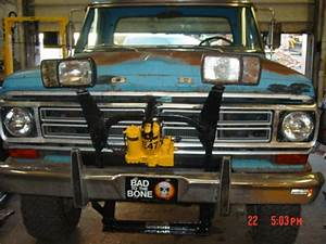 Plow  2603 Installed On 1972 F250    Service Manual Library