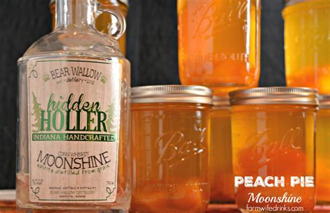 Peach Pie Moonshine - The Farmwife Drinks