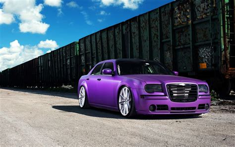 Chrysler Purple Car Hd Wallpaper Expensive Cars,hd