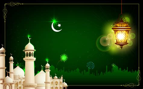 mosque night backgrounds vector  vector background