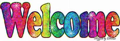 Glitter Graphics Welcome Text Copy