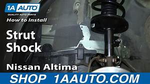 How To Replace Strut  U0026 Spring Assembly 02