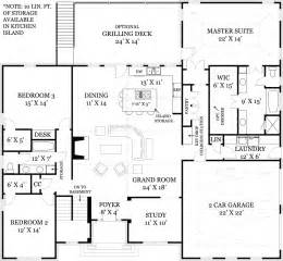 open floor plan ranch mystic 1850 3 bedrooms and 2 5 baths the house designers