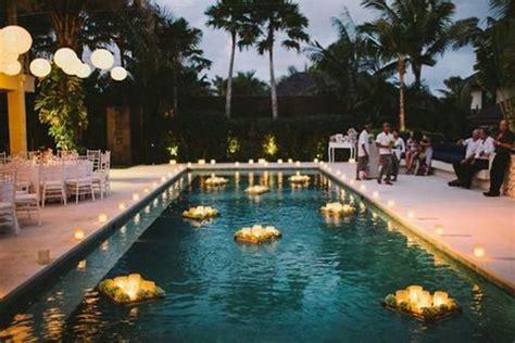 33 cool poolside wedding ideas happywedd